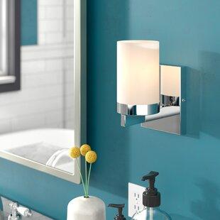 Curtsinger 1-Light Bath Sconce by Ebern Designs