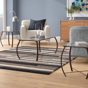 Yoder 3 Piece Coffee Table Set