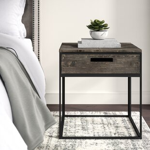 Bevier End Table with Storage by Greyleigh