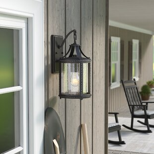 Laurel Foundry Modern Farmhouse Halcott 1-Light Outdoor Wall Lantern