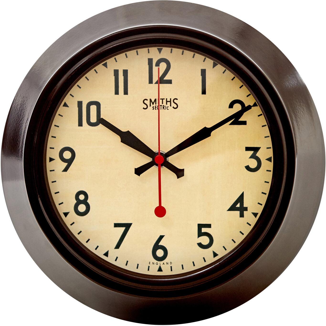 Roger Lascelles Clocks 26cm Wall Clock Reviews Wayfair Co Uk