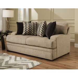 Simmons Upholstery Palmetto Loveseat by Lati..