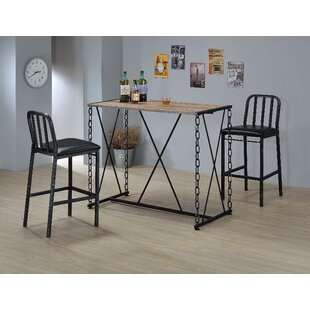 Samaniego Bar Stool (Set of 2) Williston Forge