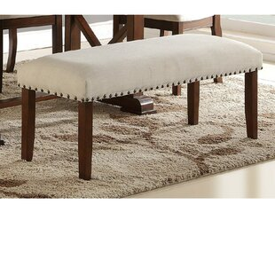 Charlton Home Rowsey Rubber Wood Bench