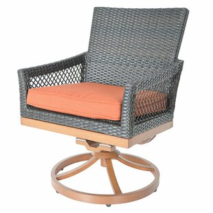Swivel Rocking Dining Chair With Cushion By Sol 72 Outdoor