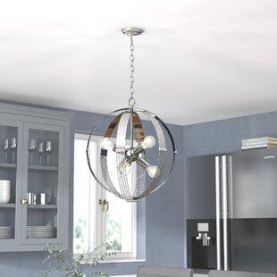 Branscome 6-Light Globe Chandelier by Brayden Studio
