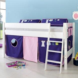 Castile European Single Mid Sleeper Bed By Zoomie Kids
