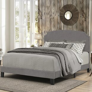 Winston Porter Kleio Desi Queen Upholstered Panel Bed