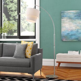 Deals Duneany 71 Arched Floor Lamp By Langley Street