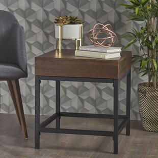 Alleen End Table with Storage