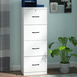 Symple Stuff 4-Drawer Vertical Filing Cabinet