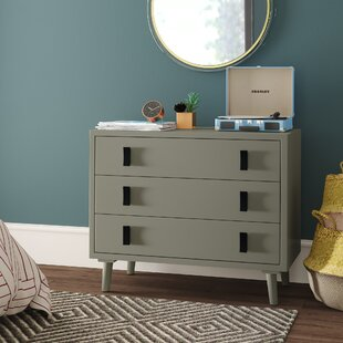 Feeley 3 Drawer Chest