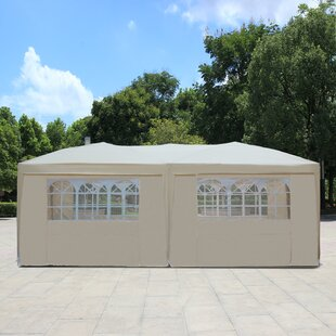 20 Ft. W x 10 Ft. D Steel Party Tent by Baner Garden