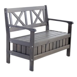 Daucourt Wooden Bench By Sol 72 Outdoor
