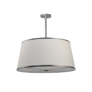 Meyda Tiffany Cilindro Cream 3-Light Pendant