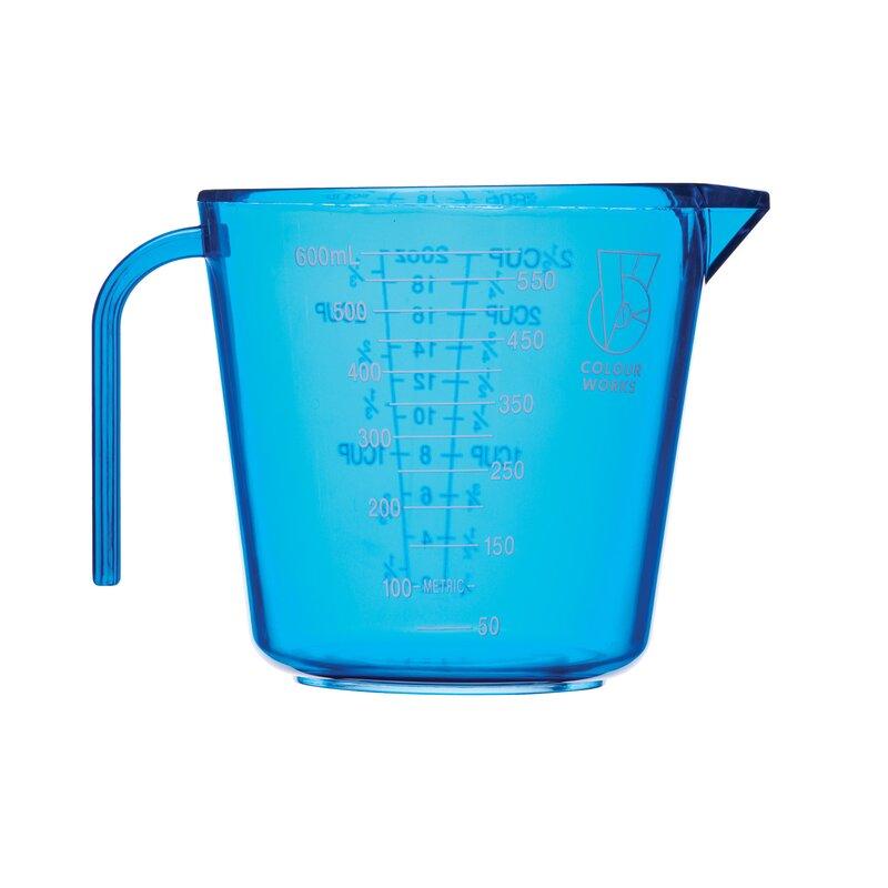 KitchenCraft Colourworks 3 Piece Measuring Jug Set Blue