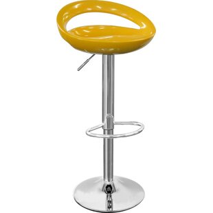 Seraphina Height Adjustable Bar Stool by Riley Ave.