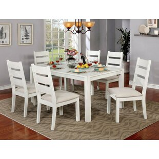 Ponder 7 Piece Dining Set August Grove