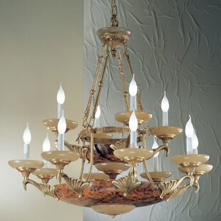 Classic Lighting Queen Anne II 14-Light Chandelier