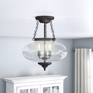Fortunat 3-Light Semi Flush Mo..