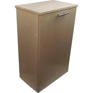 Bar Harbor Cedar 8 Gallon Pull Out/Under Counter Trash Can