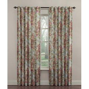 Spring Bling Nature/Floral Room Darkening Thermal Rod Pocket Single Curtain Panel
