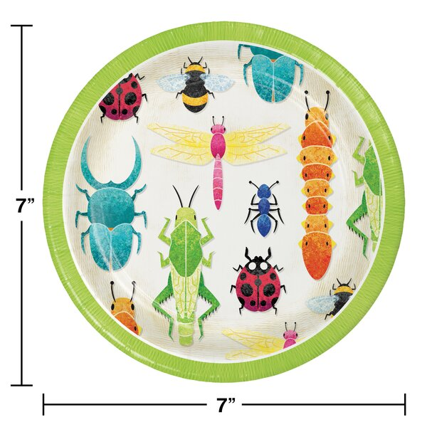 Creative Converting Bugs Party Dessert Kit Serves 24 Guests Wayfair