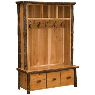 Hickory Entry Locker Hall Tree by Fireside Lodge