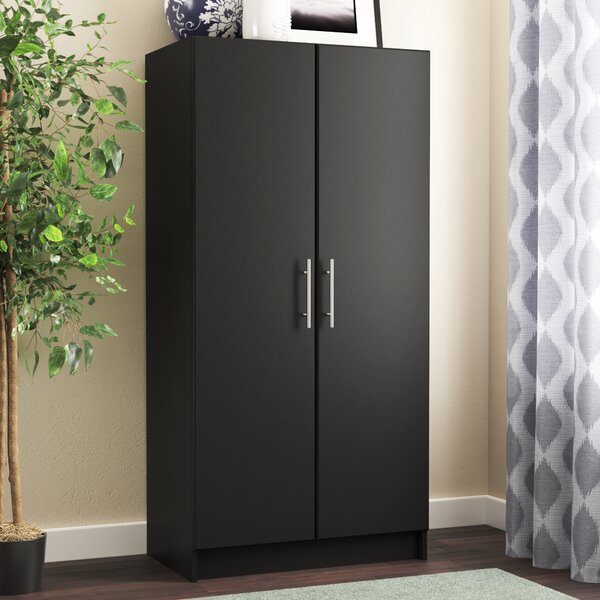 "Wayfair Basics 65""H X 32""W X 20""D Wardrobe Cabinet by Wayfair Basics™"