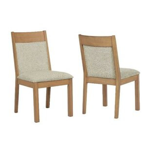 Highland Dunes Fredrika Upholstered Dining Chair (Set of 2)