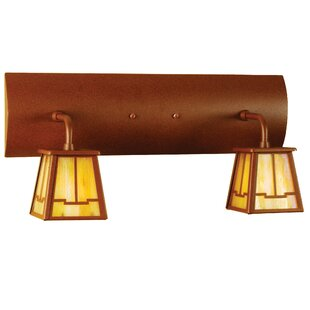 Meyda Tiffany Bungalow Valley View 2-Light Vanity Light