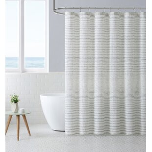 Gray And Beige Shower Curtain Wayfair