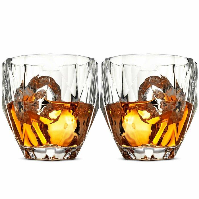 Dugger 8 Oz  Crystal Whiskey Glass