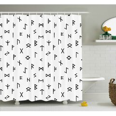 Modern Geometric Shower Curtains Allmodern
