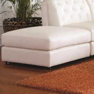 Keshawn Storage Leather Ottoman by Alcott Hill