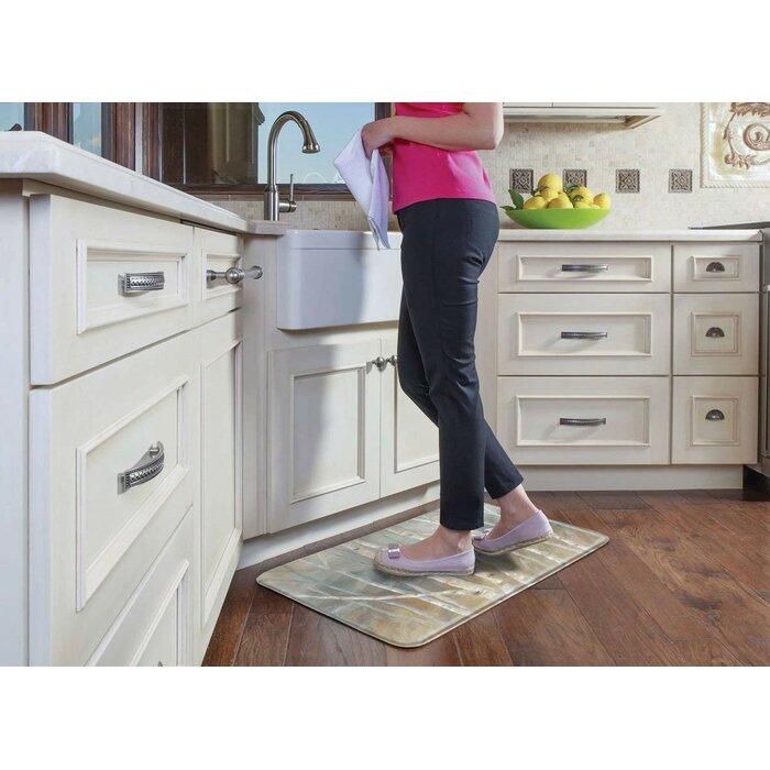 tapis de cuisine anti-fatigue comfort bouleau Spurgeon