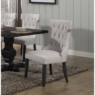 Ramses Upholstered Dining Chair (Set Of 2) by DarHome Co Best