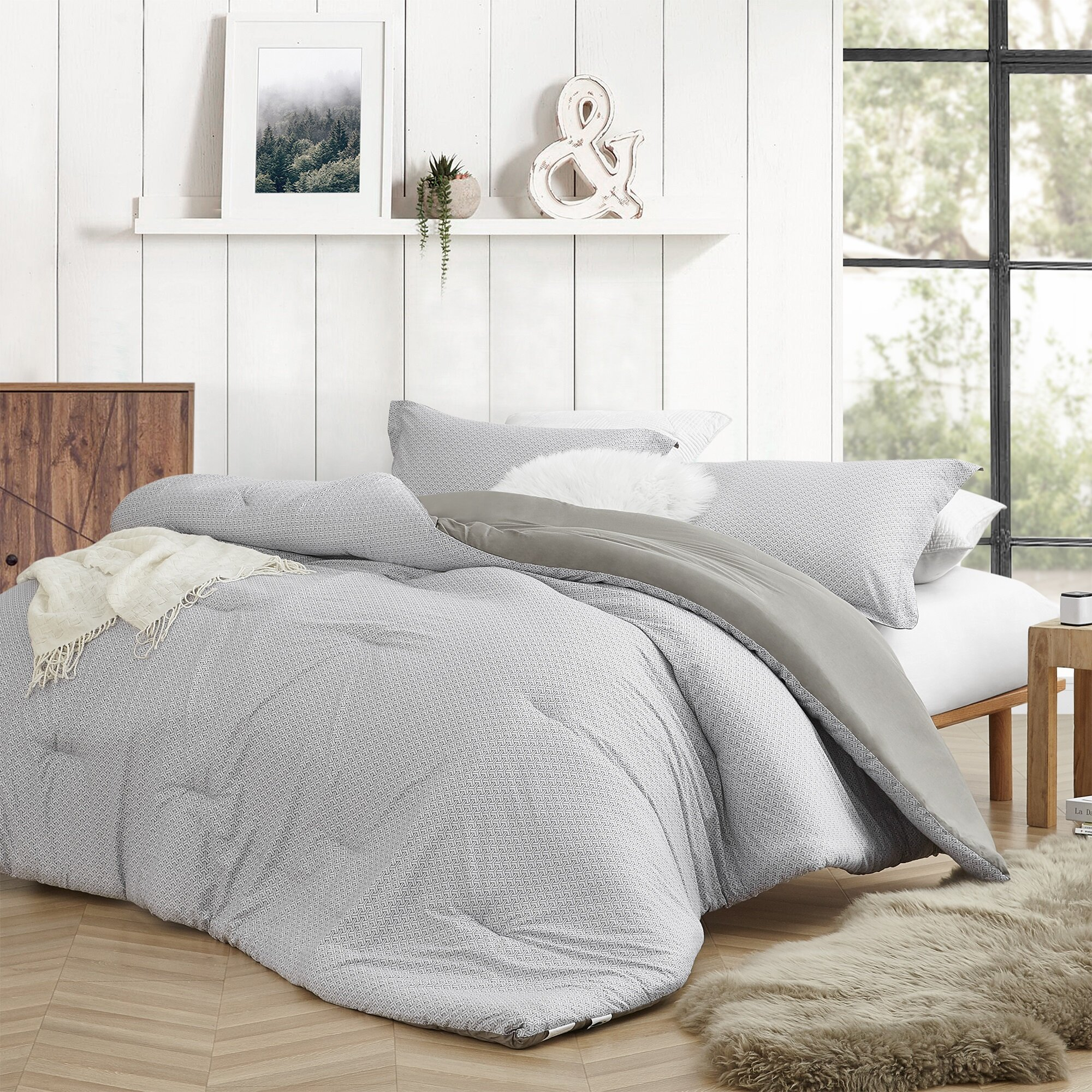 Jacob Duvet Quilt Cover Set With Pillowcases Soft Poly Cotton Luxurious Bed Set