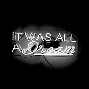 It Was All a Dream Neon Sign By Latitude Run