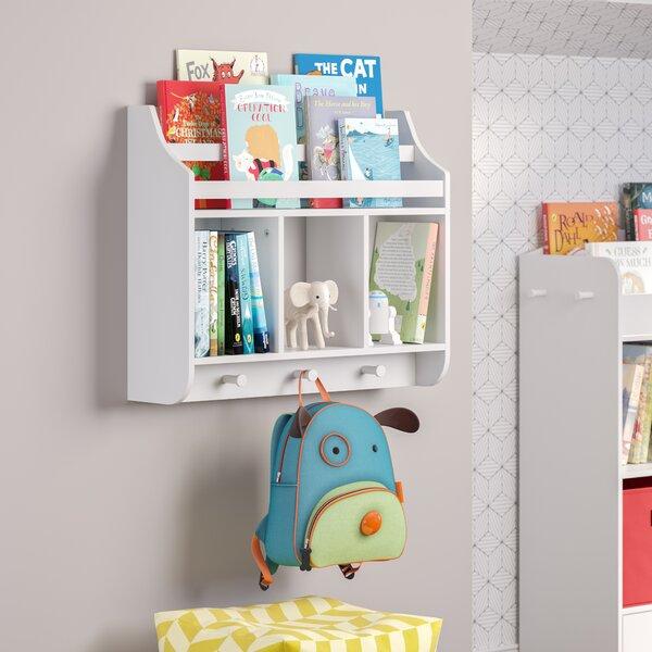 Kids Wall Mounted Bookshelf Wayfair