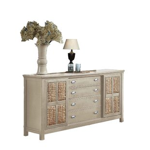 Fairfax Home Collections Pacifica 4 Drawer Standard Dresser