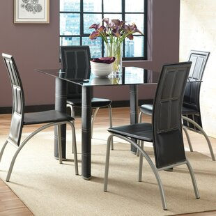 Miriam 5 Piece Dining Set (Set Of 4) by Wade Logan Design