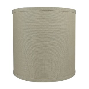 Classic Smooth 10 Linen Drum Lamp Shade