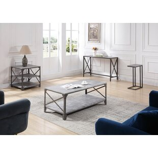 Skeen 4 Piece Coffee Table Set