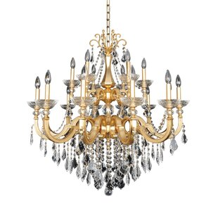 Allegri by Kalco Lighting Barret 18-Light Candle Style Chandelier