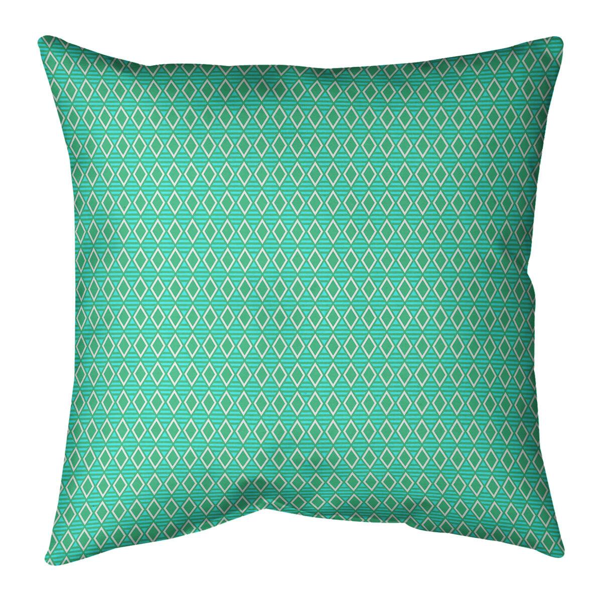 East Urban Home Mcguigan Geometric Diamonds Throw Pillow Wayfair