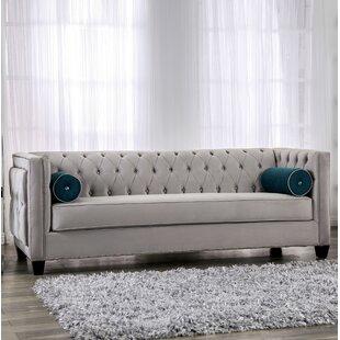 Shop Fannie Tufted Sofa by House of Hampton