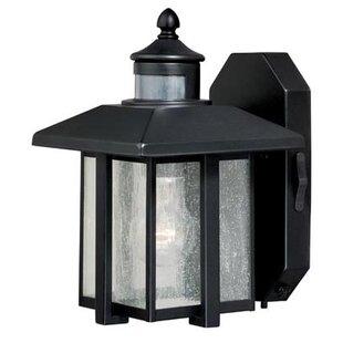 Engle 1-Light Outdoor Sconce by Breakwater Bay