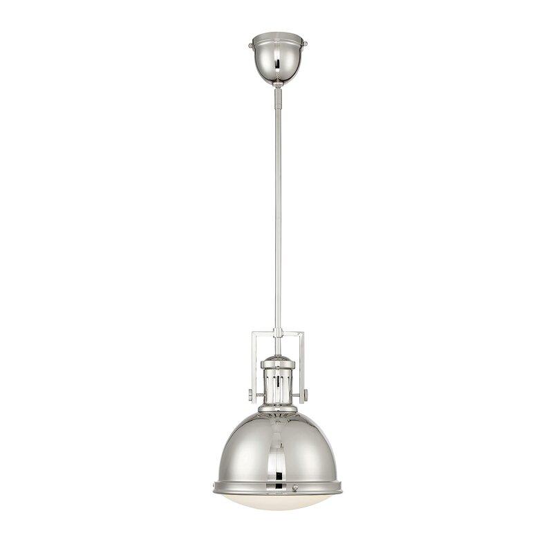Hamilton 1-Light Dome Pendant