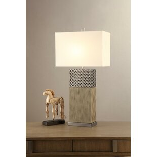 Crenshaw Rectangular Shade 32 Table Lamp (Set of 2)